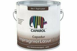 Caparol Capadur Imprägnierlasur 3 in 1 Ebenholz 750 ml