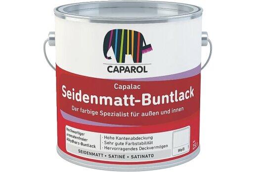 Caparol Capalac Seidenmatt-Buntlack Feuerrot RAL 3000 125ml
