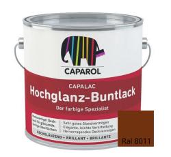 Caparol Capalac Hochglanz-Buntlack 750ml RAL 8011 Nussbraun