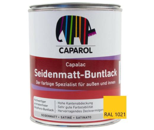 Caparol Capalac Seidenmatt Buntlack Rapsgelb 0,75L